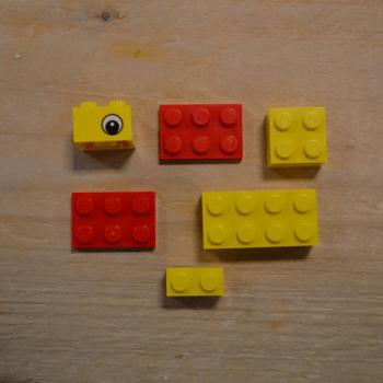 LEGO duck bag 2000416 inhoud