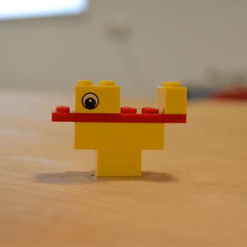 LEGO duck bag 2000416 voorbeeld