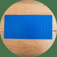 LEGO baseplate 32 X 16
